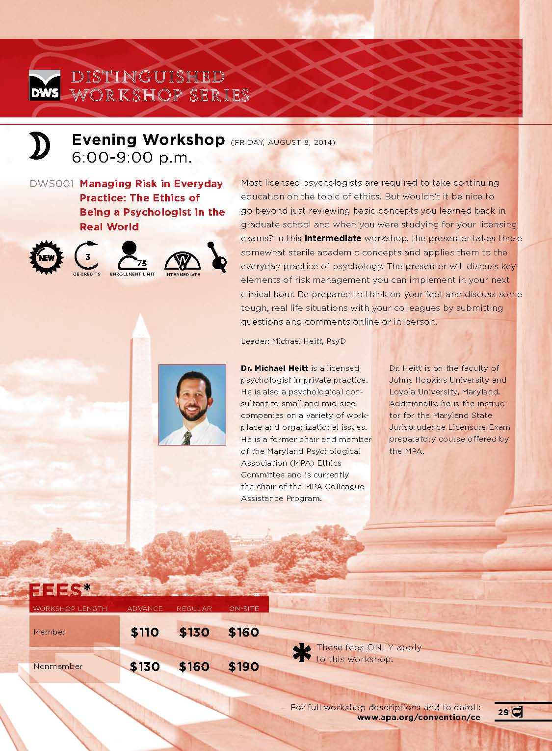 DWS Workshop Series 2014